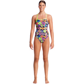 Funkita Single Strap One Piece Swimsuit Dame dunking donuts